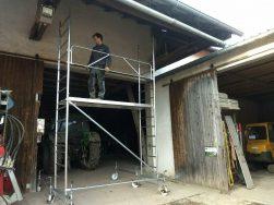 Gerüst, fahrbar, max. 10,6 m